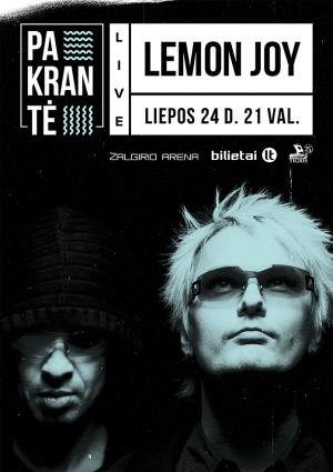 Lemon JOy - Pakrante-Bilietai